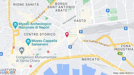Pit Stop Napoli Centrale Map
