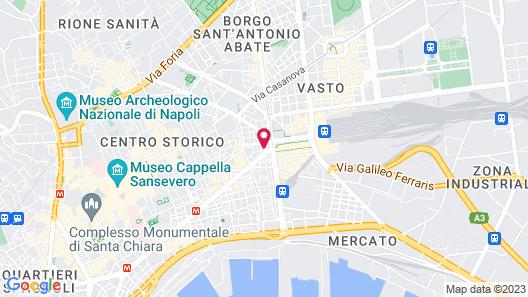 UNAHOTELS Napoli Map