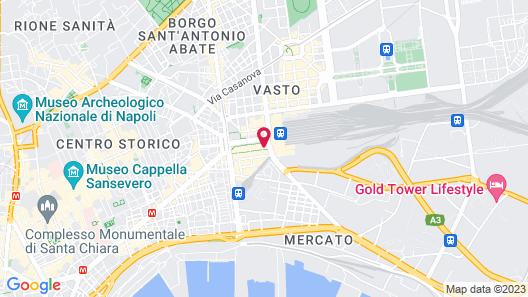 Starhotels Terminus Map