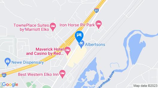 Comfort Inn Elko Map