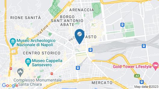 Palazzo Firenze Map