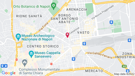 Hotel La Pace Map