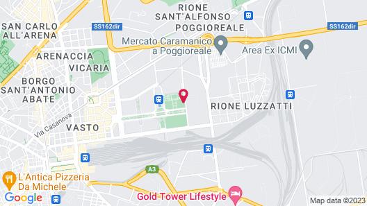 Holiday Inn Naples Map