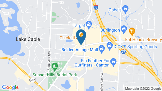 Red Roof Inn Canton Map