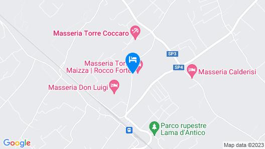 Masseria Torre Coccaro Map