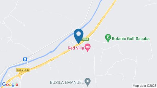 Botanic Golf SaCuba & Resort Map