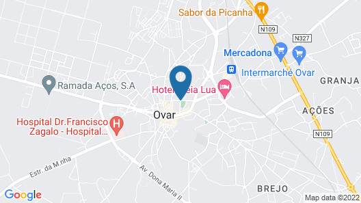 Aqua Hotel Map