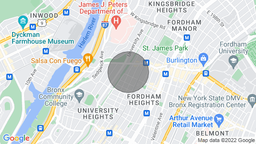 Nice Apartment in the Bronx ny Map