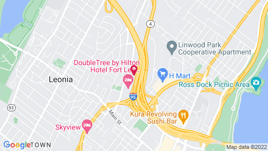 Hyatt Place Fort Lee / George Washington Bridge Map