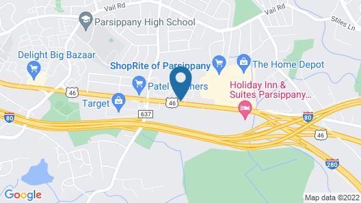 Red Roof Inn Parsippany Map