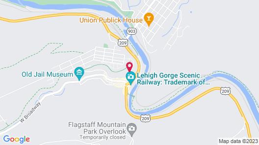 The Harry Packer Mansion Inn Map