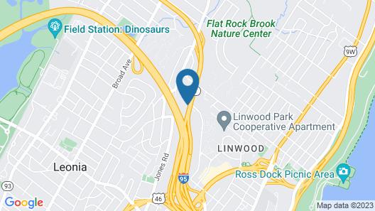 Holiday Inn GW Bridge-Fort Lee NYC Area, an IHG Hotel Map
