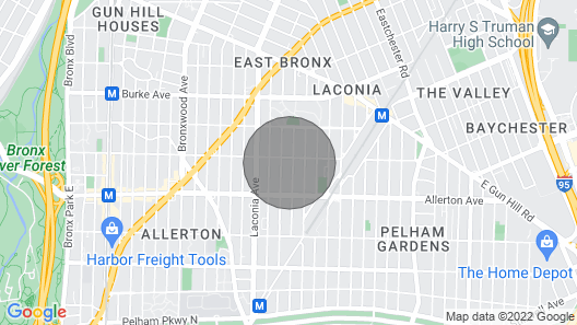 Apartment in Very Good Location of the Bronx in New York City Map