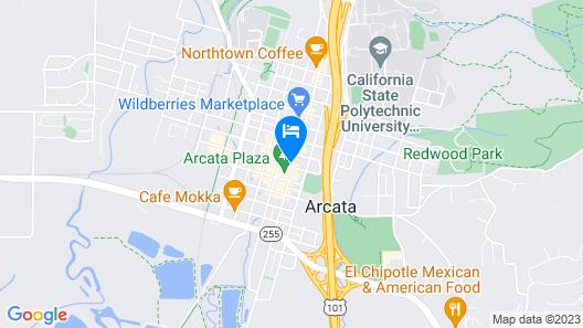 Hotel Arcata Map