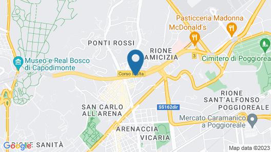 Los Mochileros Hostel Map