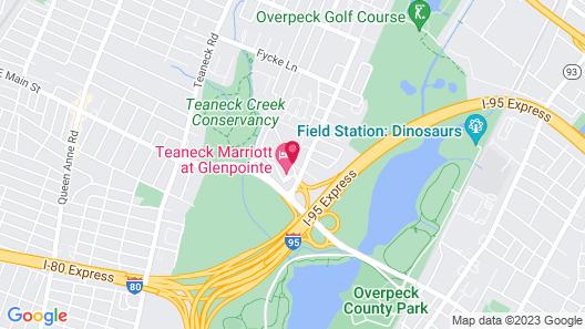 Teaneck Marriott at Glenpointe Map