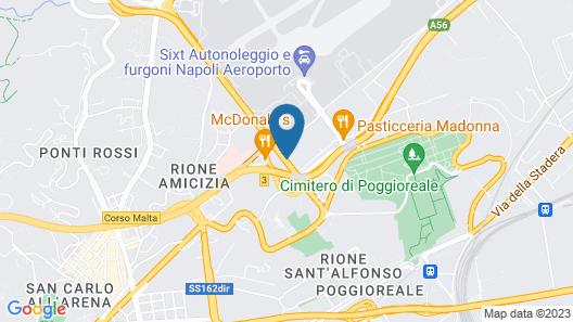 Capodichino International Hotel Map