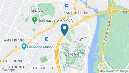 Ramada by Wyndham Bronx Map