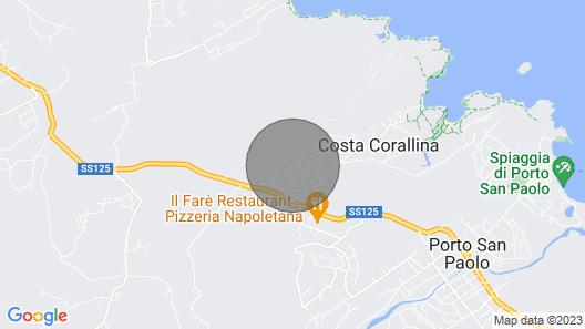 Klodge Villa Kalè in Costa Corallina: 6 Sleeps, Wifi, View Map