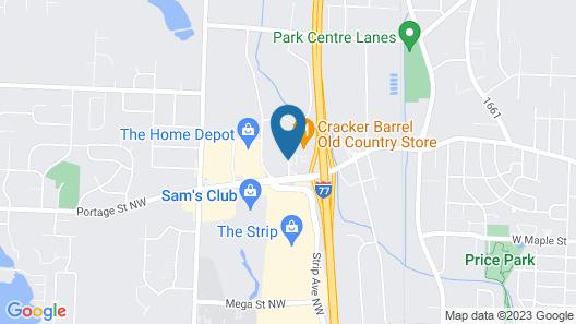 Best Western Plus North Canton Inn & Suites Map