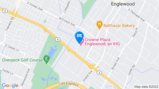 Crowne Plaza Englewood, an IHG Hotel Map