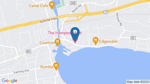 Hampton Maid Motel Map