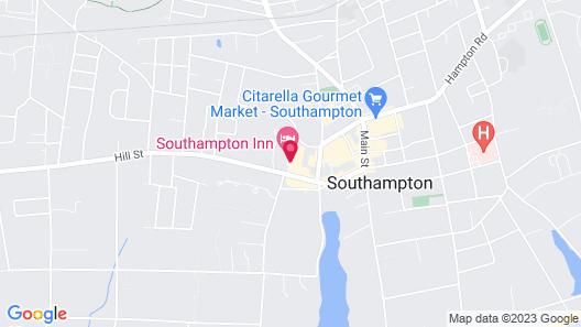 Southampton Inn Map