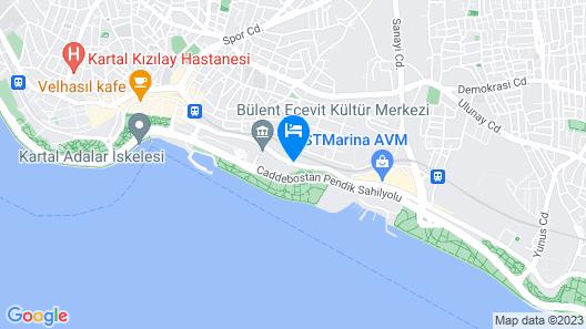 Kndf Marine Otel Map