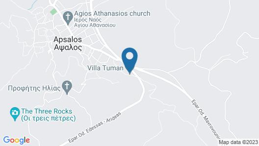 Villa Tuman Map