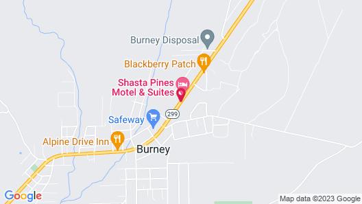 Green Gables Motel & Suites Map