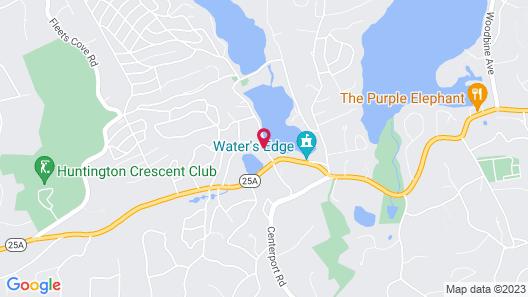 Chalet Inn & Suites Centerport Map
