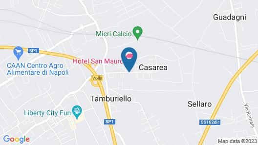 Hotel San Mauro Map