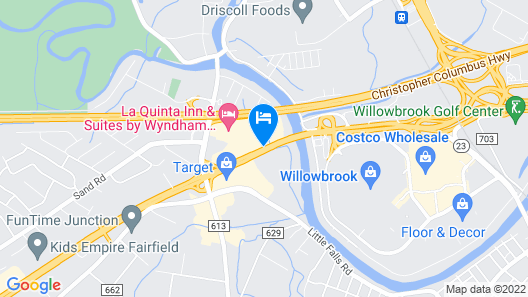 DoubleTree by Hilton Fairfield Hotel & Suites Map