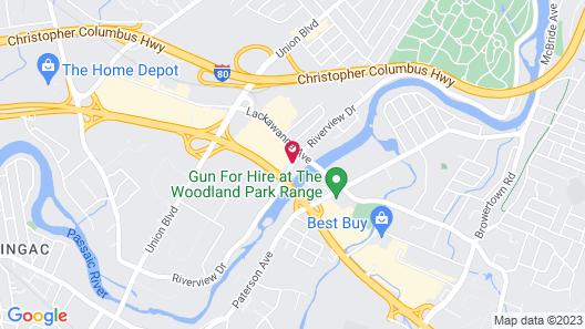 Ramada Plaza by Wyndham Totowa Map