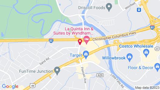 La Quinta Inn & Suites by Wyndham Fairfield NJ Map