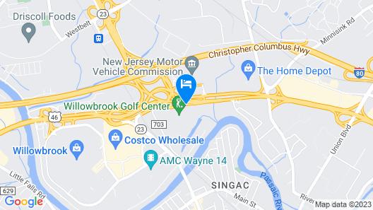Ramada by Wyndham Wayne Fairfield Area Map