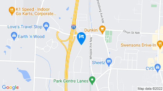 Embassy Suites by Hilton Akron Canton Airport Map