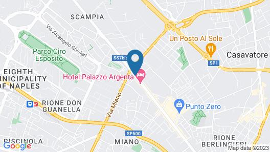 Hotel Fiorentina Map