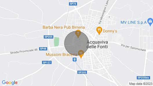 Santa Chiara Residence Map