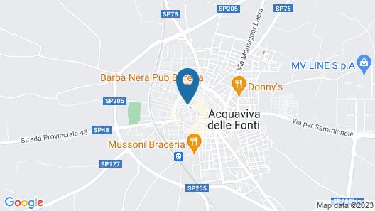 Dimora Del Pirata Map