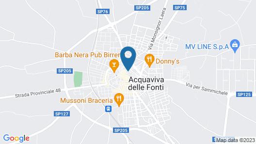 B&B San Benedetto Map