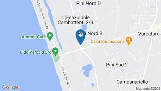 La Costiera Hotel Map
