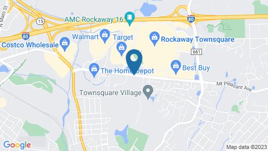 Homewood Suites by Hilton Dover - Rockaway Map
