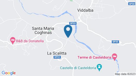 Montiruju Hotel Map