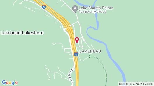 Lake Shasta Lodge Map