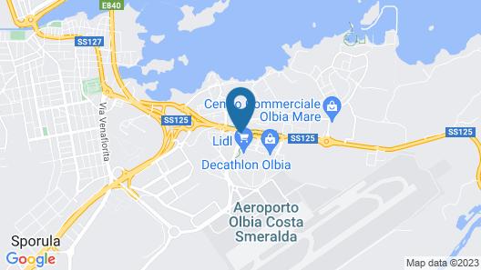 Jazz Hotel Map