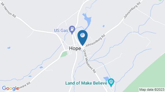 Inn at Millrace Pond Map