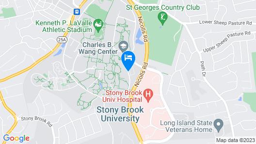 Hilton Garden Inn Stony Brook Map