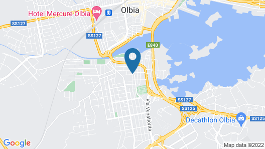 Guest House Suite Olbia Map