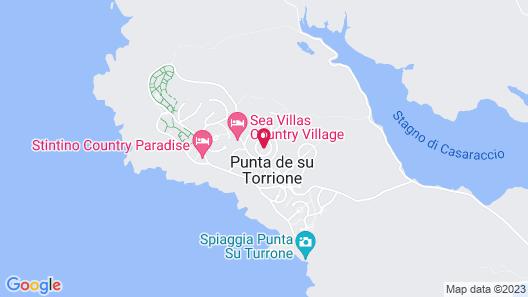Stintino Country Paradise Map
